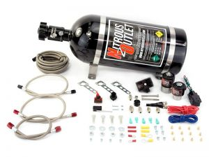 Nitrous Outlet Ford 05-10 Ford Mustang GT 4.6L/3V EFI Single Nozzle System