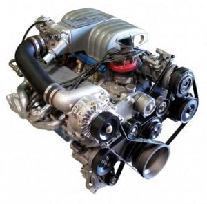 Paxton Supercharger Kit with 5.0L  Novi 1220SL, Polished (1986-1993 Ford Mustang)