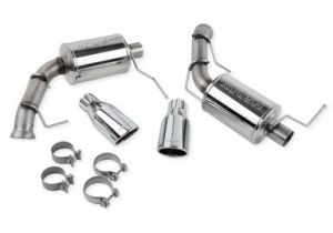 Roush Exhaust with Round Tips (11-14 V8 Mustang )
