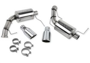 Roush Exhaust Kit with Round Tips (11-14 V6 Mustang)