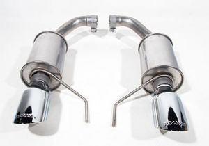 Roush 3.7L V6 and 2.3L Ecoboost  Exhaust Kit - Round Tip (304SS) (15-19 Mustang)