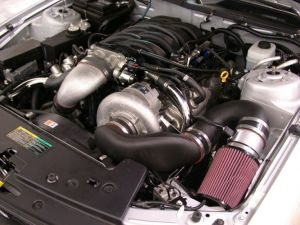 Paxton SuperCharger Kit with 4.6L (Novi 2200SL Intercooled, Polished) [2005-2006 Mustang
