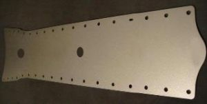 Elite Engineering C5/ C6 Chassis Tunnel Plate