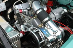 Procharger Chevy SBC & BBC Cog Race Intercooled Kit With F-1C OR F-1R For Aftermarket EFI/CARB