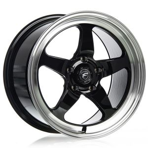 Forgestar D5 Mustang Pair Wheels (18x9 +22 Fronts)