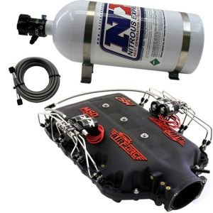 NX MSD Airforce Intake Manifold W/NX Direct Port Nitrous System, For 2014-Up Lt1