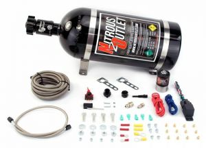 Nitrous Outlet Universal Single Nozzle Dry System