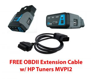 HP Tuners MPVI2 VCM Suite Standard w/ OBDII Extension Cable + $30 Gift Card