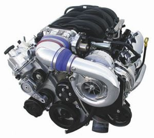 Paxton SuperCharger Kit  with 4.6L (Novi 1200, Polished) [2005-2006 Mustang]