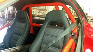 RPM Rollbars Mazda RX7 93-96 w/ FREE GoPro Style Action Camera & Harness Belt